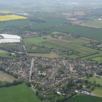 Ariel View Of Langley