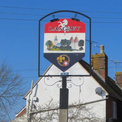 Langley Sign